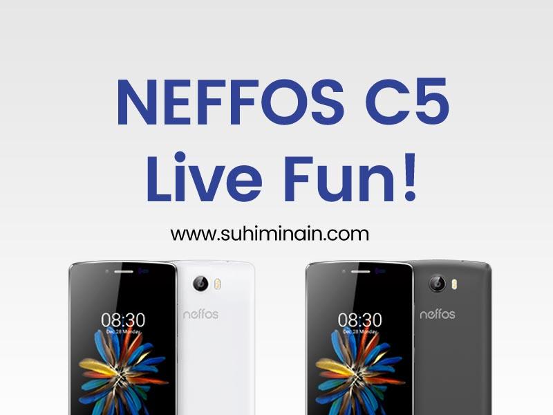 Neffos C5 Live Fun
